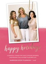 Sophisticate Business Holiday Cards