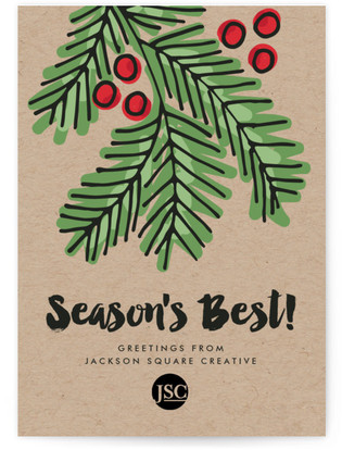 Holiday Best Business Holiday Cards