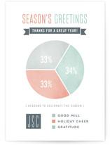 Holiday Pie Chart by Hooray Creative