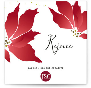 Holliday Florals Business Holiday Cards