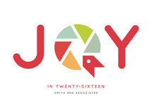 Joy To The New Year Business Holiday Cards