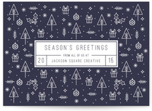 Season's Greeting Icons by Gakemi Design Co