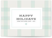 Plaid Happy Holidays