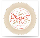 Warmly Wished Business Holiday Cards
