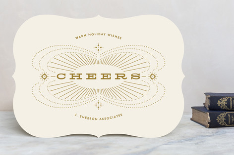Sparkle and Shine Business Holiday Cards