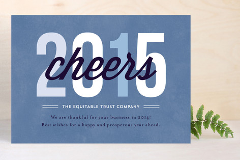 Cheers to 2016 Business Holiday Cards