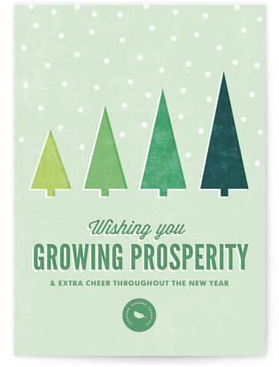Growing Prosperity Business Holiday Cards