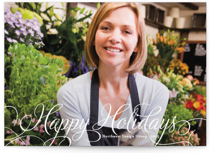 Classic Merry Business Holiday Cards