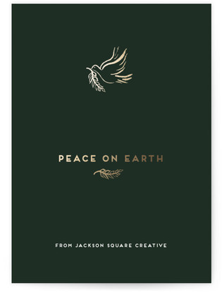 Dove Business Holiday Cards