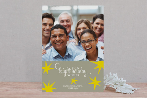Bright Star Business Business Holiday Cards