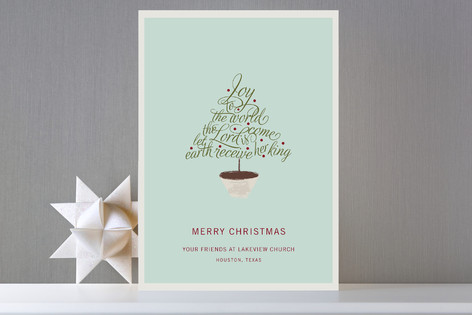 Joy to the World Business Holiday Cards