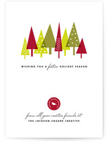 Festive Forest by Three Kisses Studio
