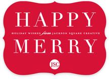 Happy merry