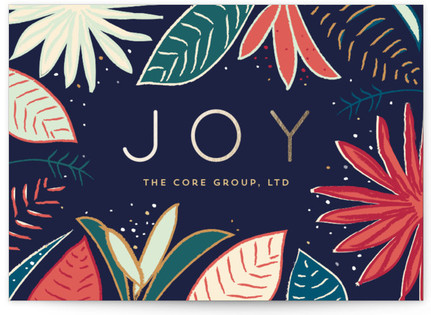 Tropical Holiday Business Holiday Cards