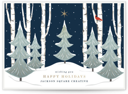 Peace And Prosperity Business Holiday Cards