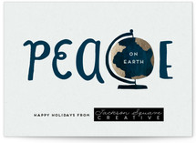 Peace On Earth's Globe by Frooted Design