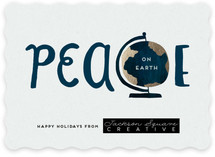 Peace On Earth's Globe