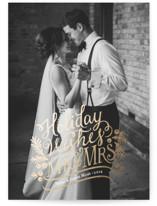 Mr. & Mrs. by Mandy Rider