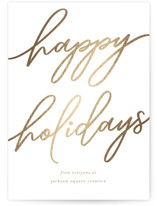 Holiday Script by Tennie and Co.