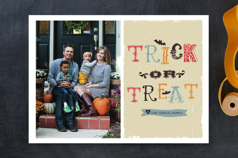 Trick or Treat Halloween Cards