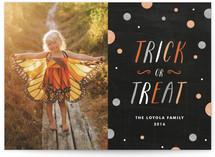 Trick or Treat Glitter by Amanda Larsen Design
