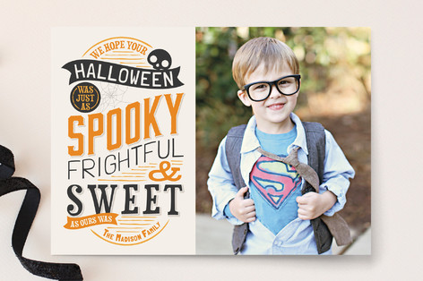 Spooky and Sweet Halloween Cards