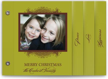 Ornate Frame Holiday Minibooks