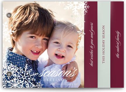 Snowflake Window Holiday Minibooks