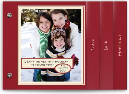 Vintage Peppermint Holiday Minibooks