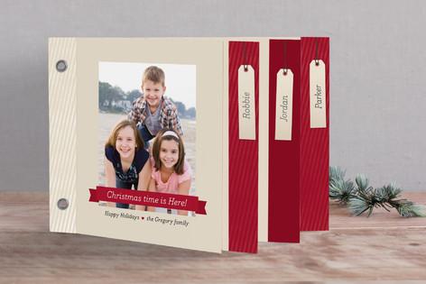 Ribbon and Tags Holiday Minibook™ Cards
