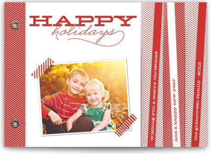Chevron Cheer Holiday Minibooks