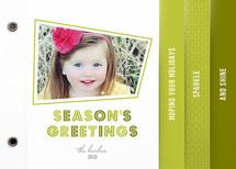 Retro Sparkle Holiday Minibooks