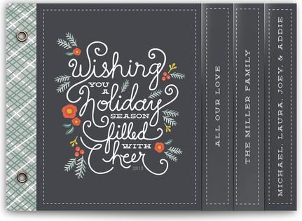 Winter Foliage Cheer Holiday Minibooks