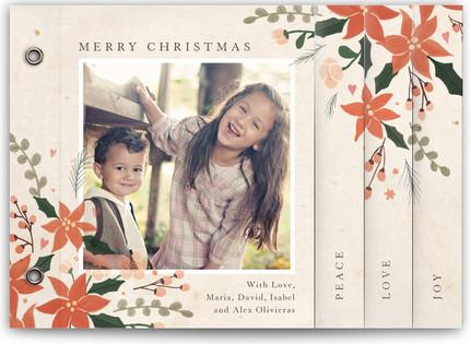 Poinsettia Holidays Holiday Minibooks