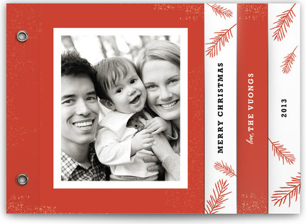 Rustic Pine Holiday Minibooks