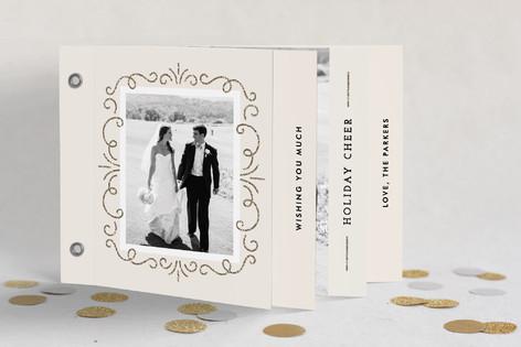 Elegant Holiday Cheer Holiday Minibook™ Cards