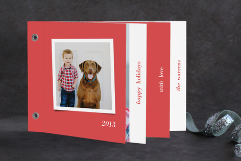 Modern Cheer Holiday Minibook™ Cards