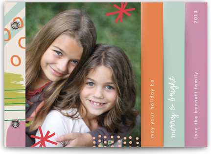 Painted Merry & Bright Holiday Minibooks
