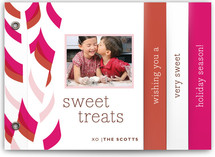 Candy Sticks Holiday Minibook™ Cards