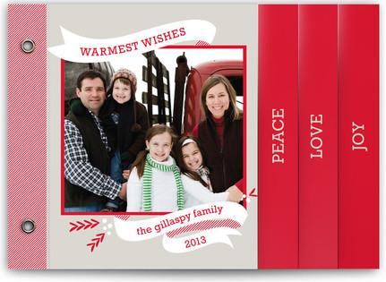 Peppermint Ribbon Holiday Minibooks