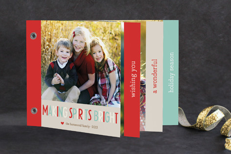 Making Spirits Bright Holiday Minibook™ Cards