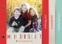 Making Spirits Bright Holiday Minibooks