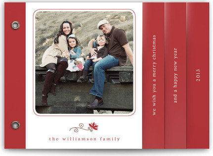 Simple Charm Holiday Minibooks