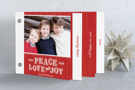 Mittens Holiday Minibook™ Cards
