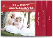 Ruby Ribbons Holiday Minibook™ Cards