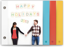 Peg Holiday Minibook™ Cards