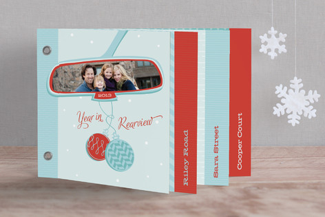 Year in Rearview Holiday Minibook™ Cards
