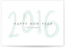 Brushed New Year