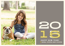 Hip New Year Holiday Petite Cards