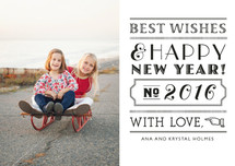 Roaring New Year Holiday Petite Cards